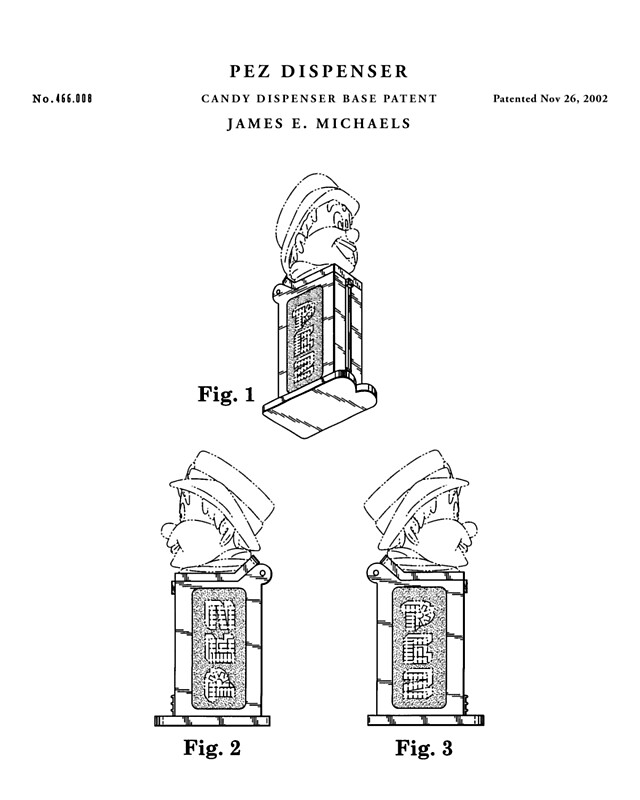 Pez patent drawing blueprint posters by vintago redbubble pez patent drawing blueprint by vintago malvernweather Image collections