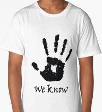 hands up Long T-Shirt