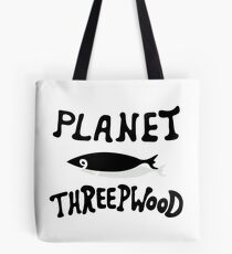 PLANET THREEPWOOD Tote Bag