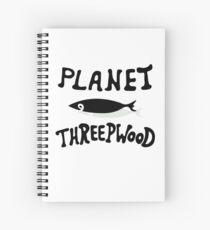 PLANET THREEPWOOD Spiral Notebook