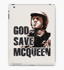 God Save McQueen iPad Case/Skin