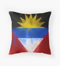 Antigua And Barbuda Flag Reworked No. 1, Series 1 Kissen