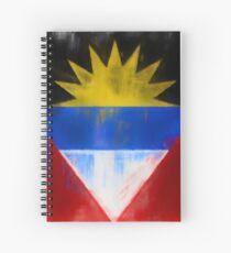 Antigua And Barbuda Flag Reworked No. 1, Series 1 Spiralblock