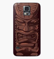 Wooden Tiki Statue Totem Sculpture iPhone  Case Case/Skin for Samsung Galaxy