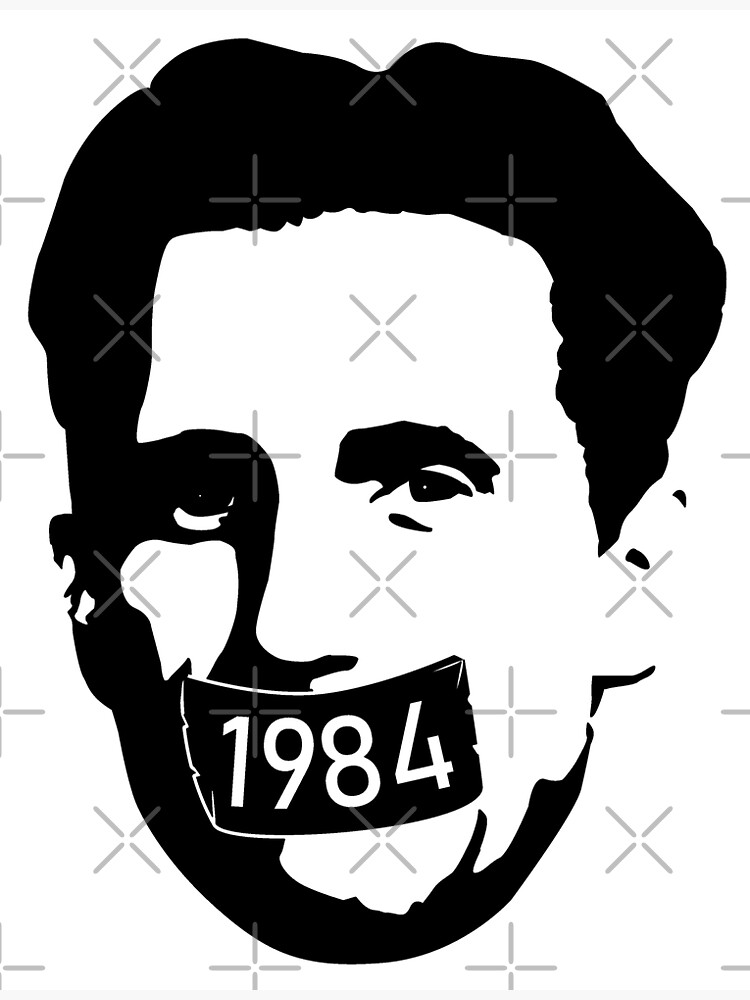 George Orwell [1984] - Censorship Tape by thedrumstick