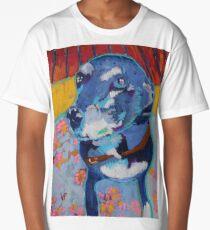 Black Labrador Retriever  Long T-Shirt