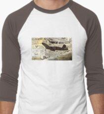 F-4U Corsaire warbirds Men's Baseball ¾ T-Shirt