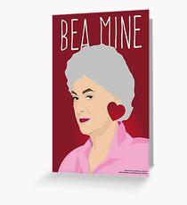 The Golden Girls - Dorothy Zbornak - Bea Arthur Valentine Card Greeting Card