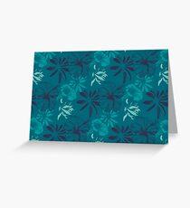 Hibiscus  Carte de vœux
