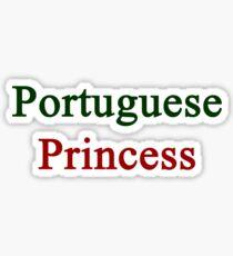 Portuguese Princess  Sticker