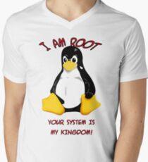 Your system is my kingdom Men's V-Neck T-Shirt