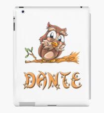 Dante Owl iPad Case/Skin