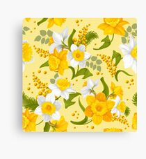 One Daffodil Is Too Few! Canvas Print