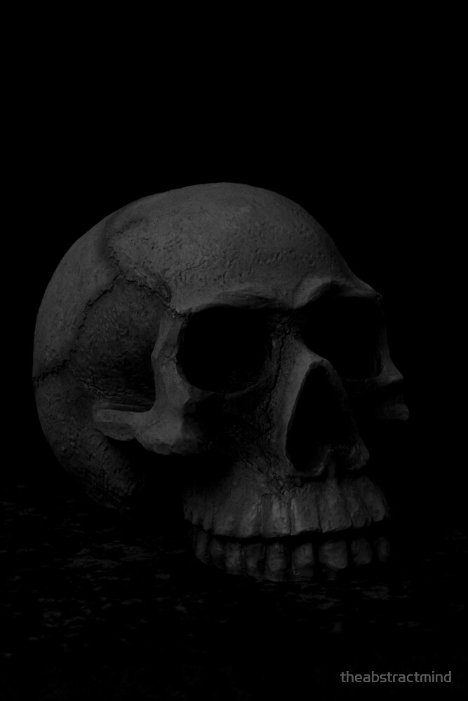 Skull by theabstractmind