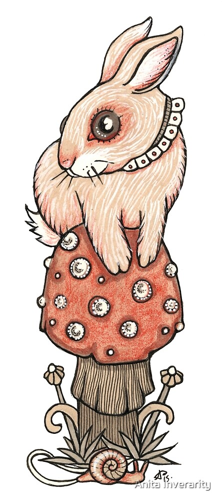 Wee Bunny by Anita Inverarity