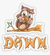 Dawn Owl Sticker