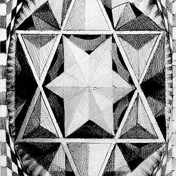Geometric musings of the star pyramid  by Calgacus