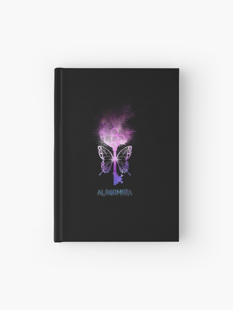 HP Potterhead - flying magic key - magic spell (pink/blue galaxy sand  explosion) | Hardcover Journal