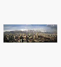 Tehran skyline Photographic Print
