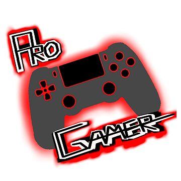 Pro Gamer red by VTinyTigerV