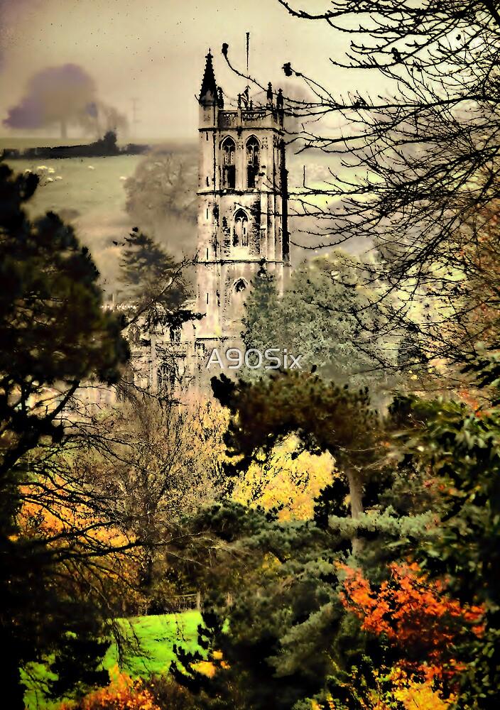 Church Through The Trees by A90Six