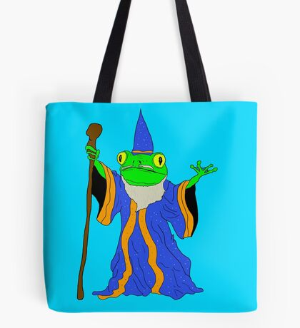 The Wizard of the Pond.  Tote Bag