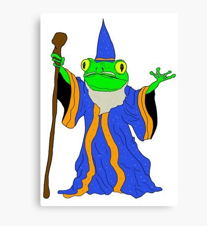 The Wizard of the Pond.  Canvas Print