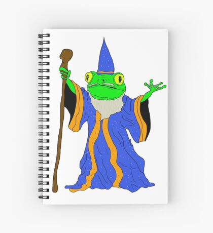 The Wizard of the Pond.  Spiral Notebook
