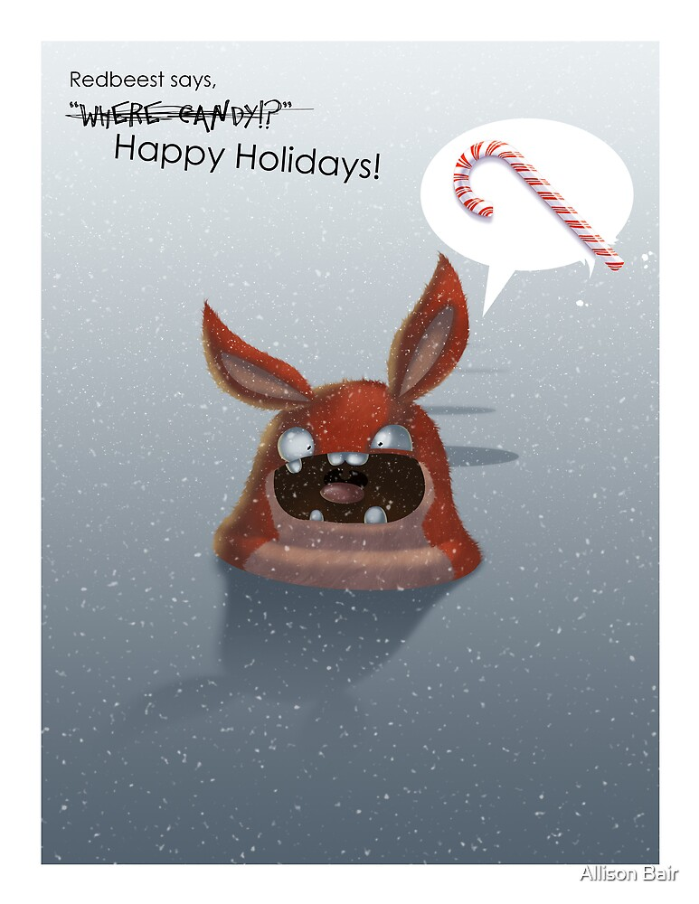 Reedbeest Says Happy Holidays? by Allison Bair