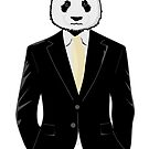 Panda Bear in Business Suit by pda1986