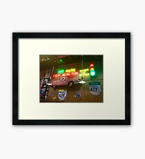 Pink Cadillac on 429  Framed Print