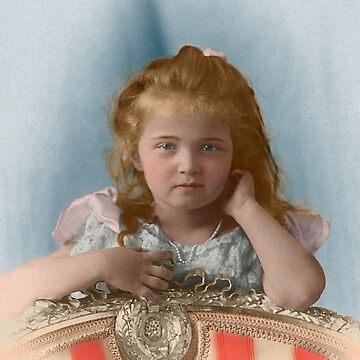 Olga Nikolaevna Romanova - 1901 by Laurynsworld