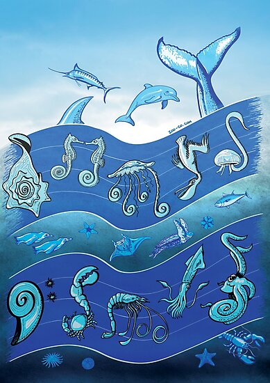Ocean's Symphony by Zoo-co