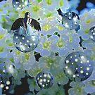Fantasy in Blue by Greta  McLaughlin