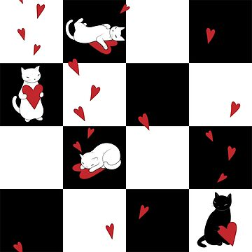 Cat Love Checkers de runcatrun