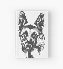 German Shepherd Hardcover Journal