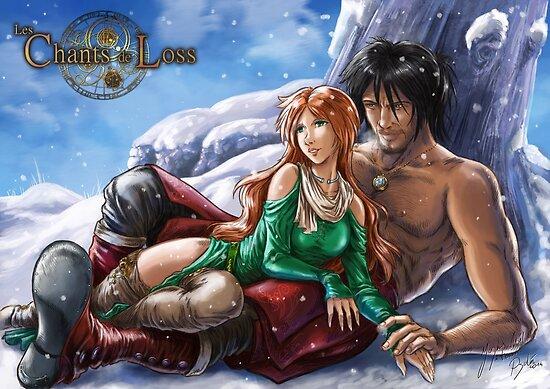 Jawaad and Lisa by psychee