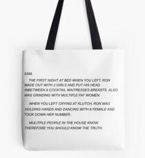Sammi Sweetheart Letter Tote Bag