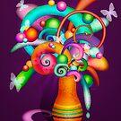 21st Century Bouquet by dancinghorseart