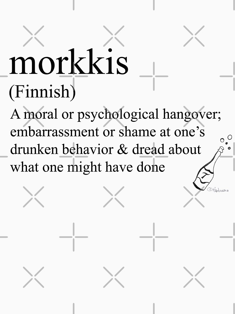 Morkkis- (Finnish) statement tees & accessories by Rendezvousmag