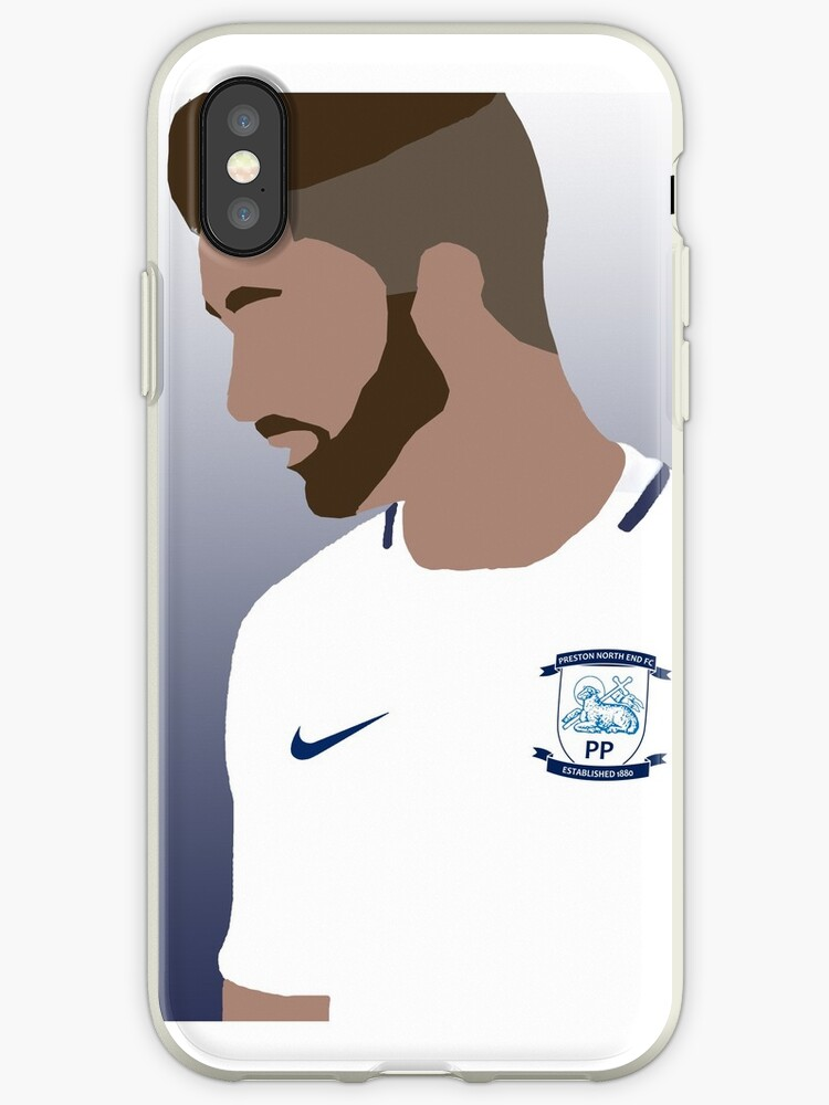 huge discount 6514e 1c4f7 'Sean Maguire Preston North End' iPhone Case by Jack-Tucker15