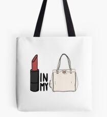 788d27a8e0ab lipstick in my Valentino white bag  Tote Bag