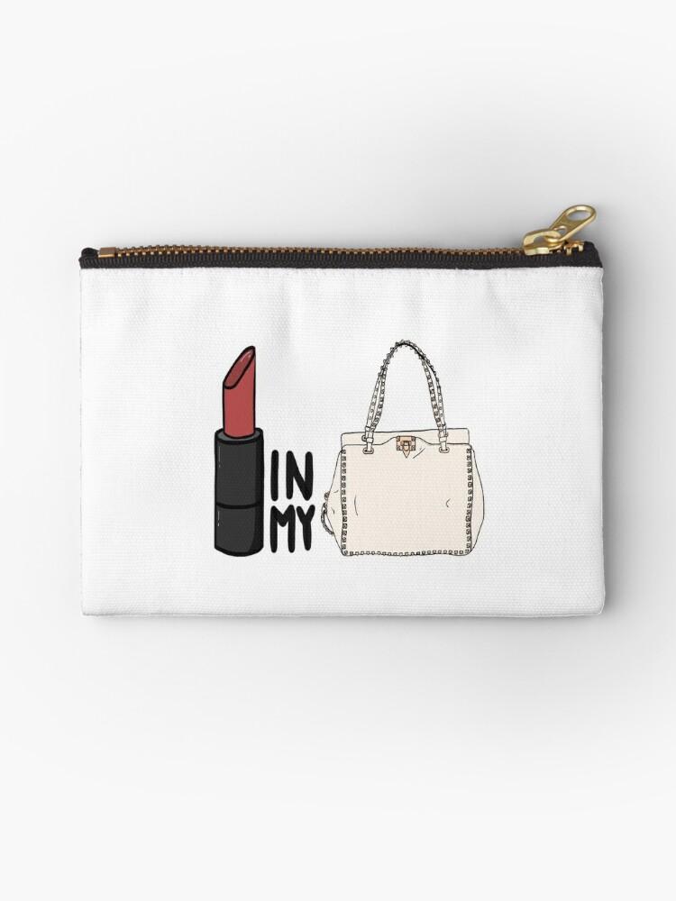 5e092ce58bf0 lipstick in my Valentino white bag