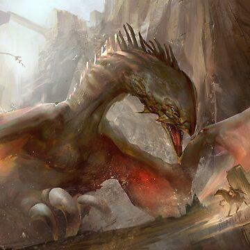 Dragon Art by Berlitos