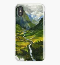 The Hidden Valley iPhone Case