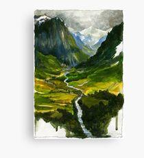 The Hidden Valley Canvas Print