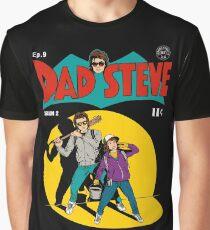 Stranger Things Dad Steve Graphic T-Shirt