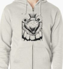 Hi! Close talker Zipped Hoodie