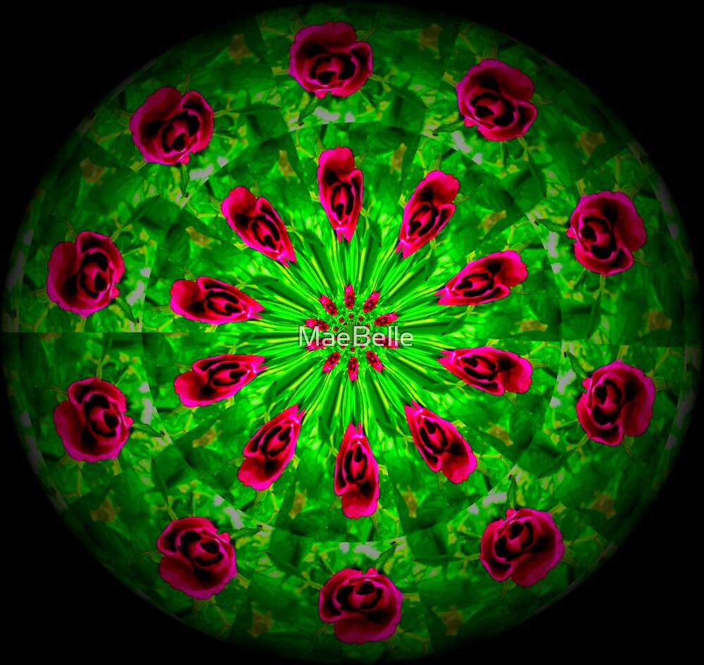 Klidescope Rose Garden,Vinette by MaeBelle
