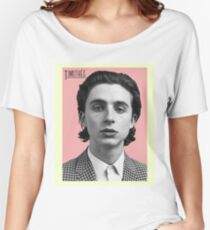 Timothee Chalamet  Women's Relaxed Fit T-Shirt
